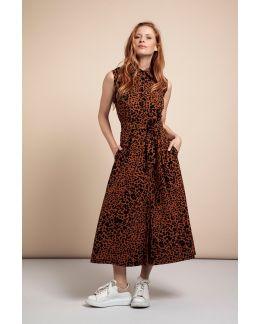 Studio Anneloes Indy SL animal  dress