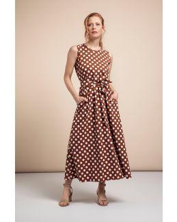 Studio Anneloes Sigrid big dot dress