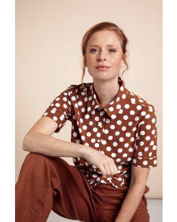 Studio Anneloes Poppy SSL big dot shirt