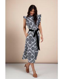 Studio Anneloes Michelle paisley dress
