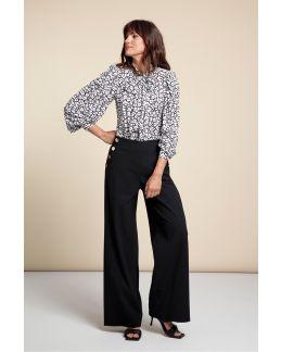Studio Anneloes Carmine button trouser