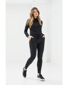Studio Anneloes Downstairs pinstripe trousers