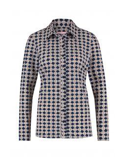 Studio Anneloes Poppy geo shirt