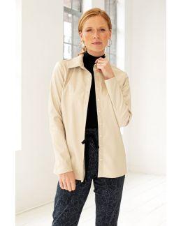 Studio Anneloes Poppy croco leather shirt