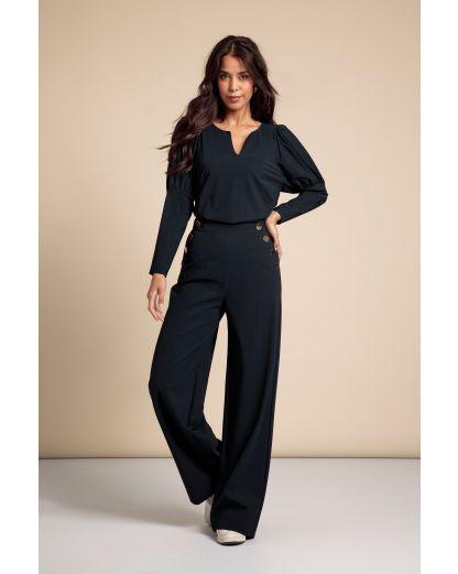 Studio Anneloes Carmine button trousers