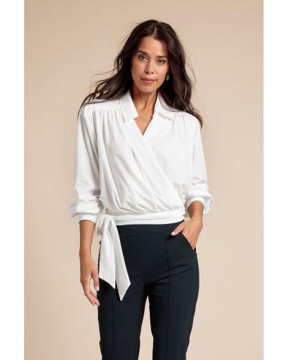 Studio Anneloes Apple wrap blouse