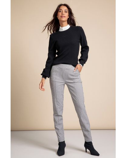 Studio Anneloes Kathy check trousers