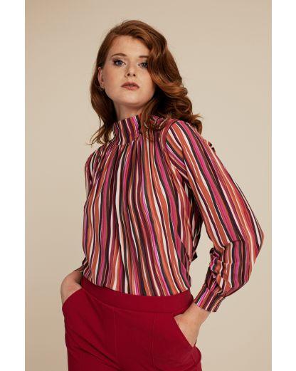 Studio Anneloes Izzie LS bookprint blouse