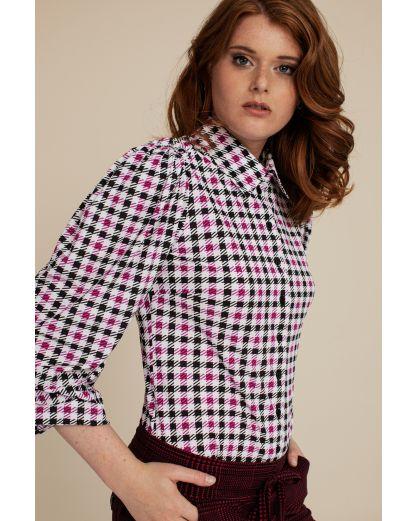 Studio Anneloes Noah big check blouse
