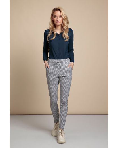 Studio Anneloes Downstairs check trousers